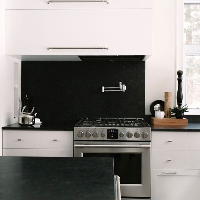 A Love Affair With Saint Henry Black Granite Kitchen Countertops